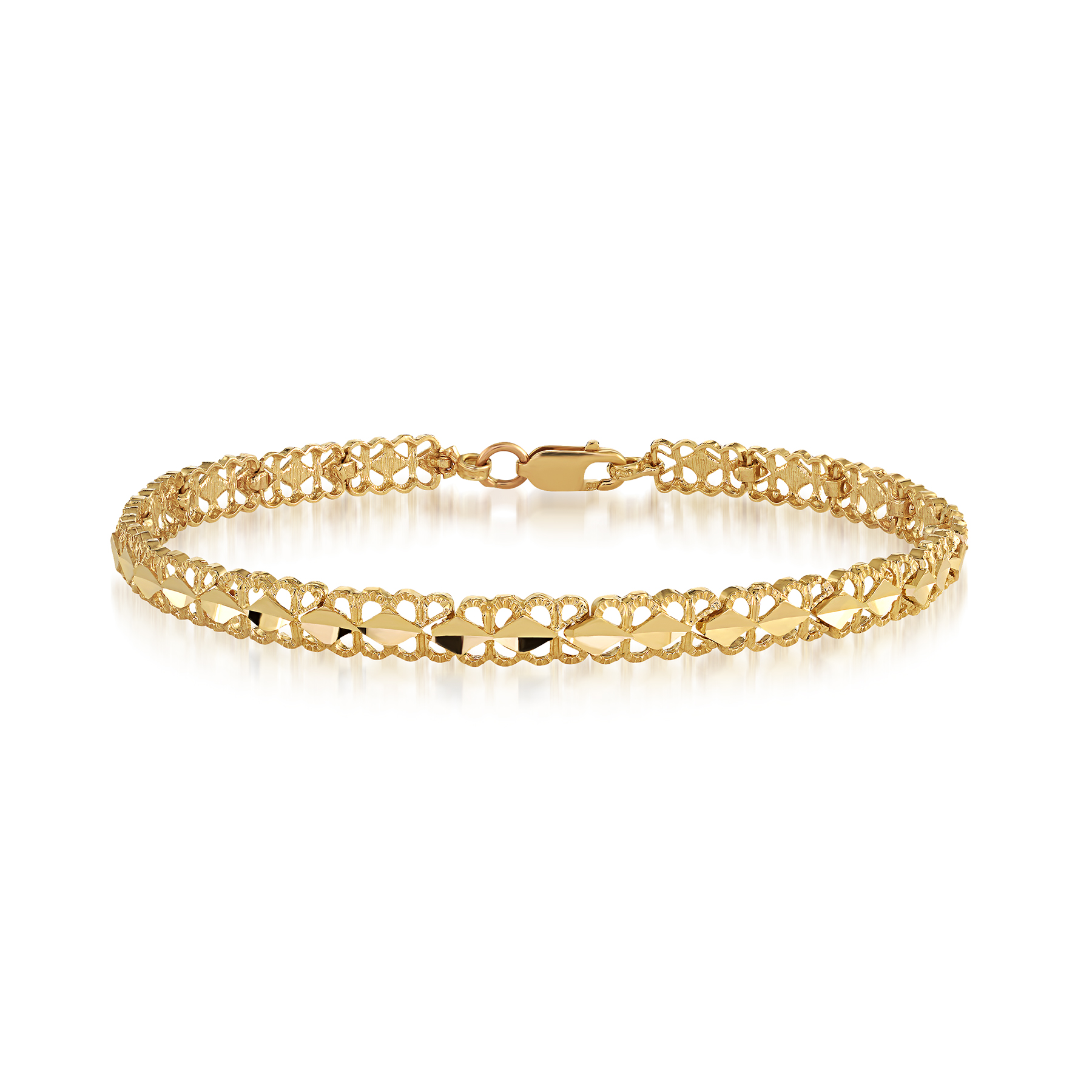Bracelet for woman - 10K yellow gold