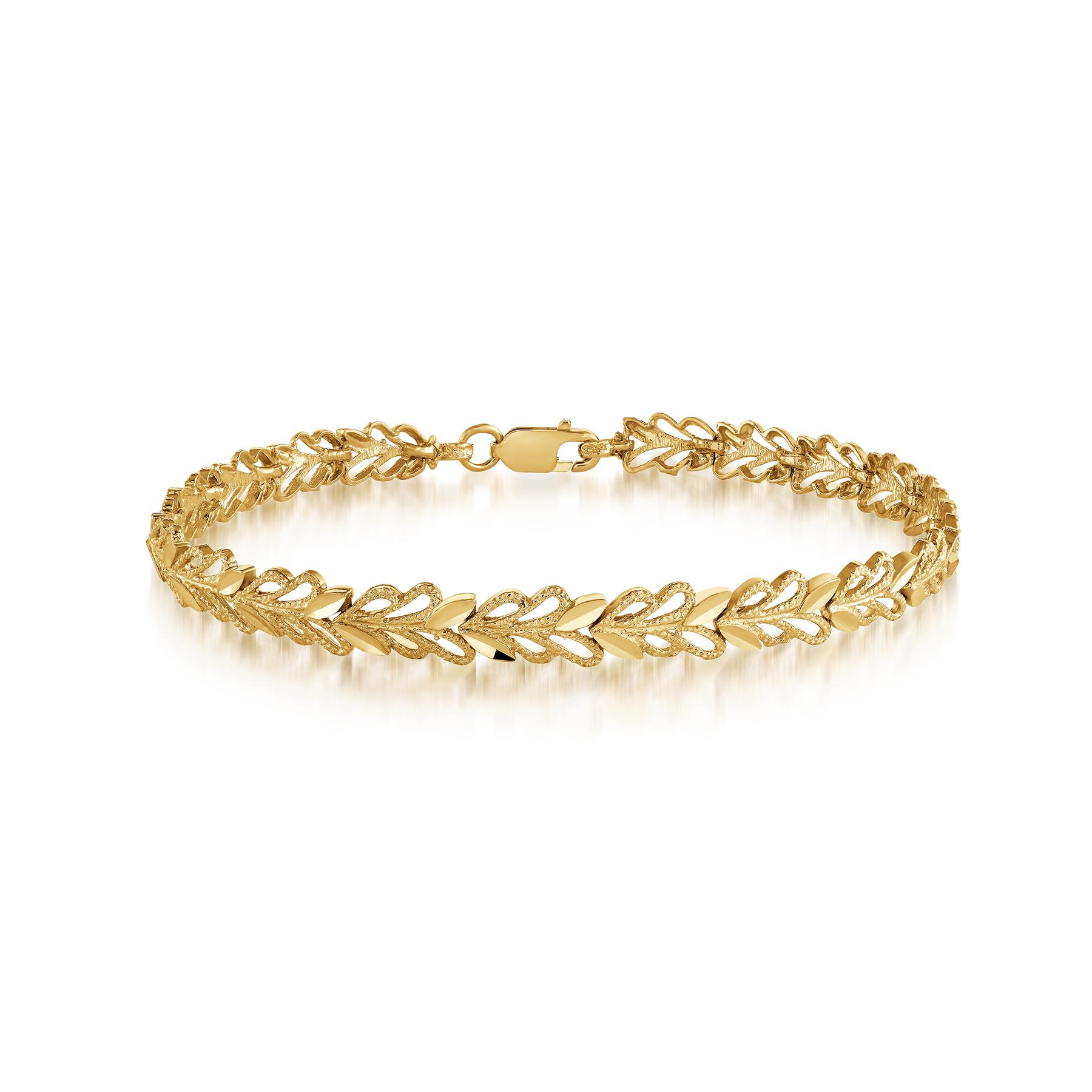 Bracelet pour femme - Or jaune 10K
