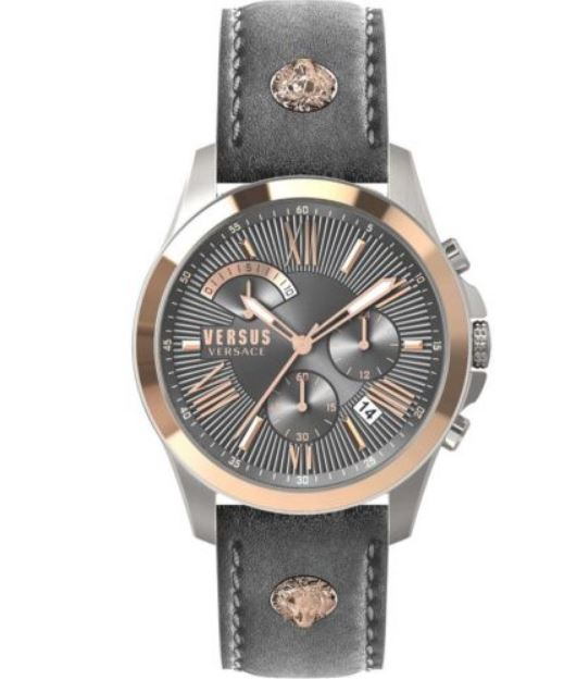 watch for man - Stainless steel & Leather strap