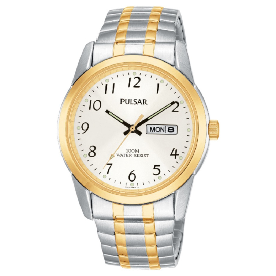 watch for man - 2-tone Stainless steel