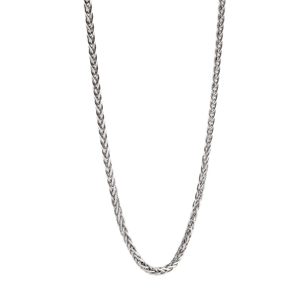 Chain 18'' for woman - Sterling silver