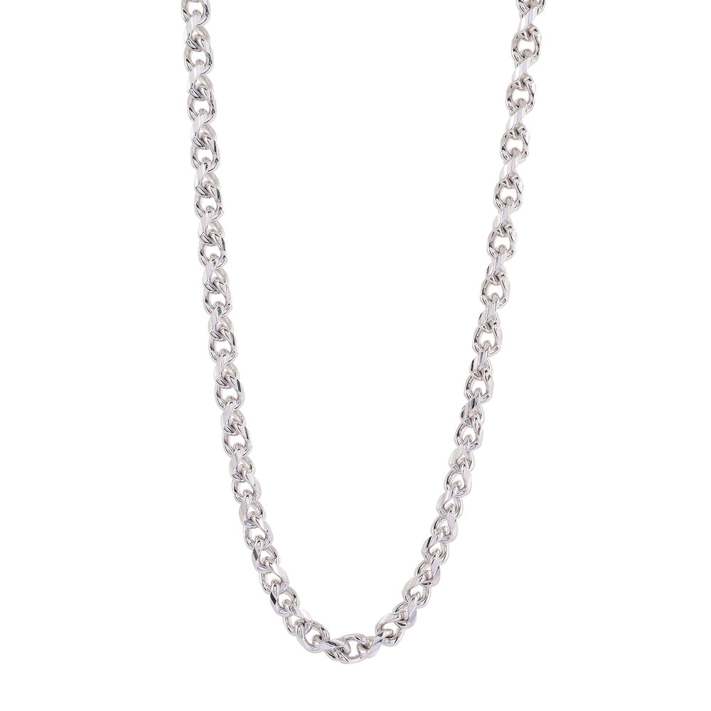 Chain 24'' for man - Sterling silver