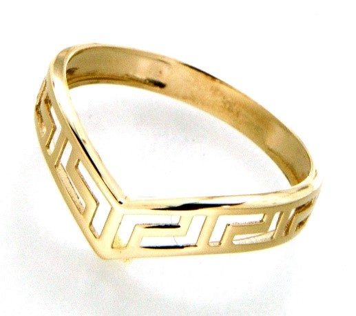 Ring for woman - 10K yellow gold