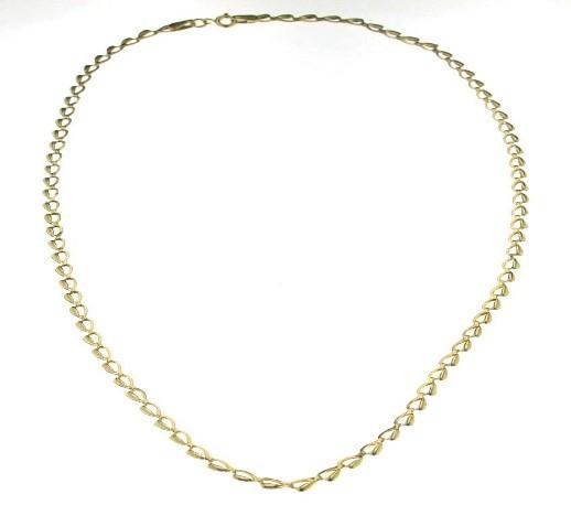 Collier pour femme - Or jaune 10K