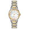 Eco-Drive watch for woman - 2-tone stainless steel & Mother-of-pearl dial