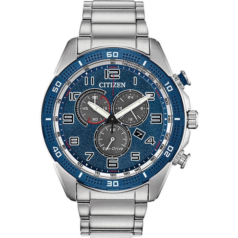 Eco-Drive watch for man - Stainless steel