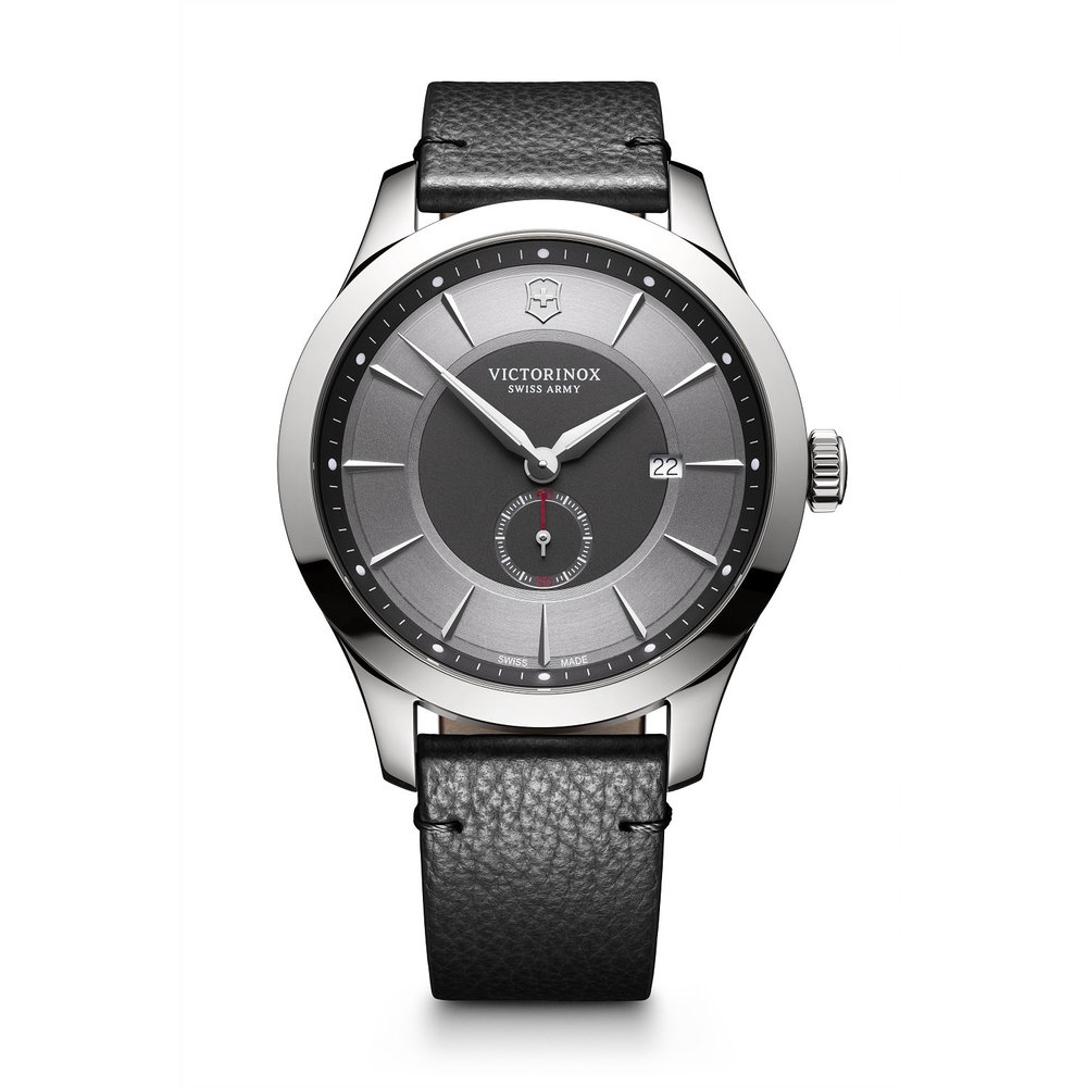 Alliance watch for man - Stainless steel case & Leather strap