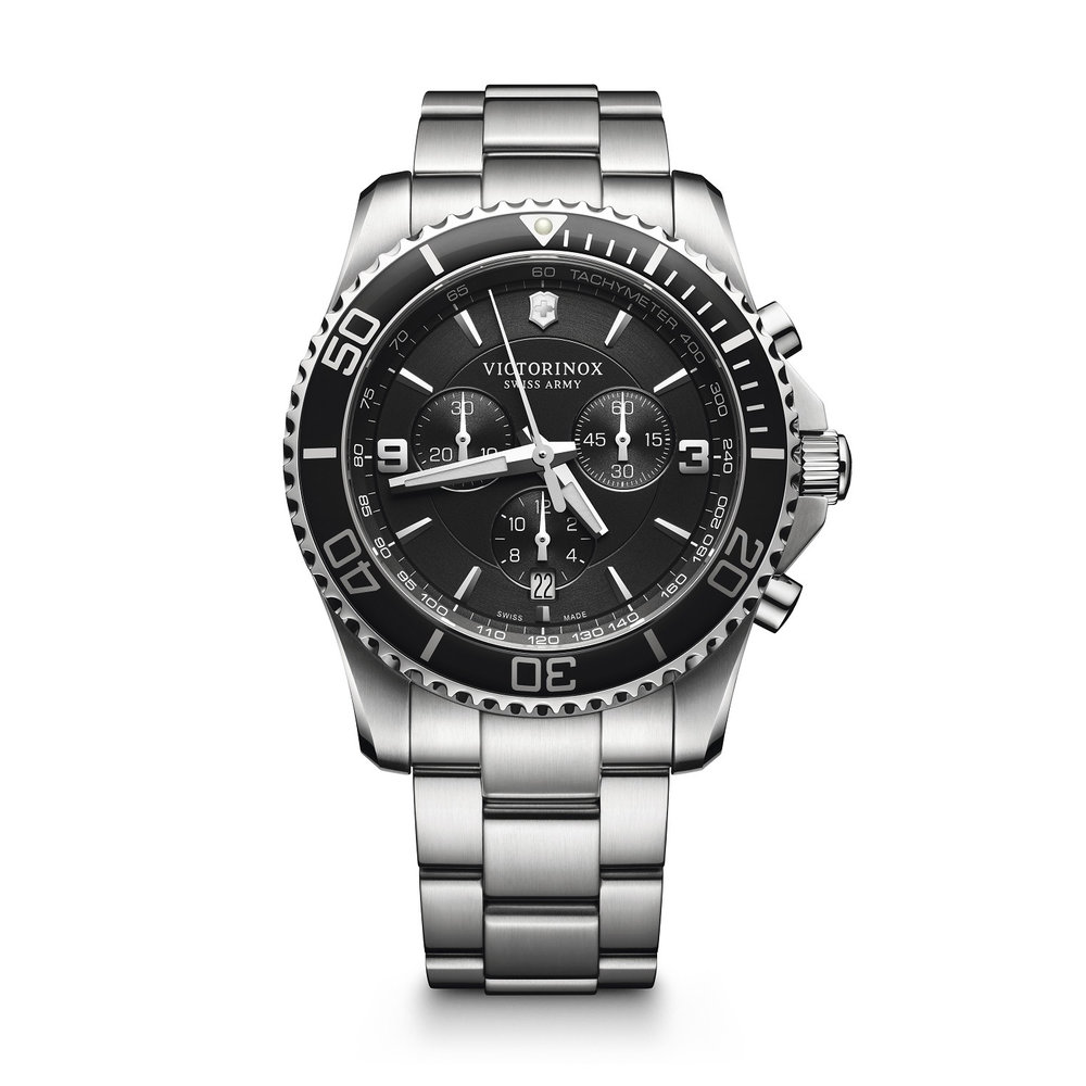 Maverick watch for man - Stainless steel & Chronograph