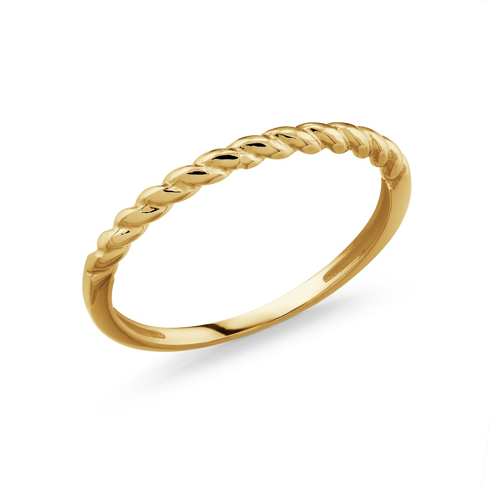 Band for woman - 10K yellow gold