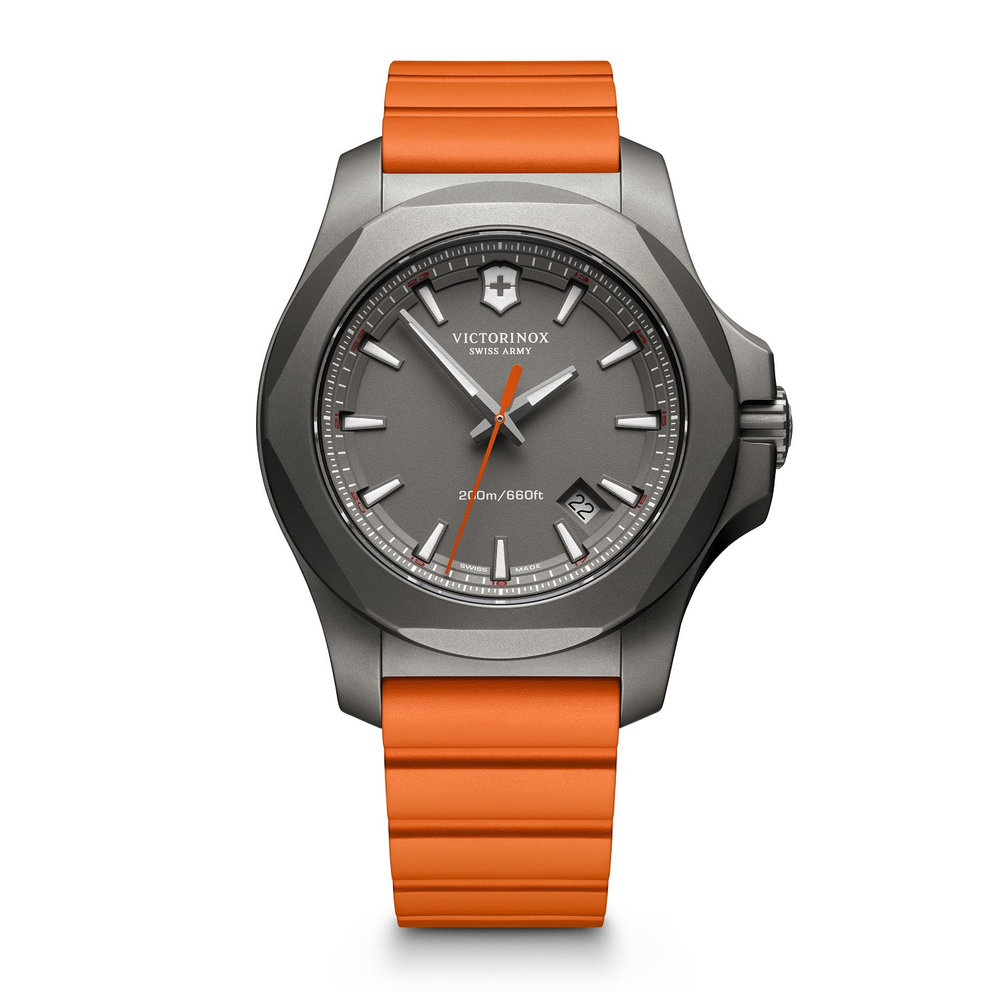 watch for man - Titanium case & Rubber strap