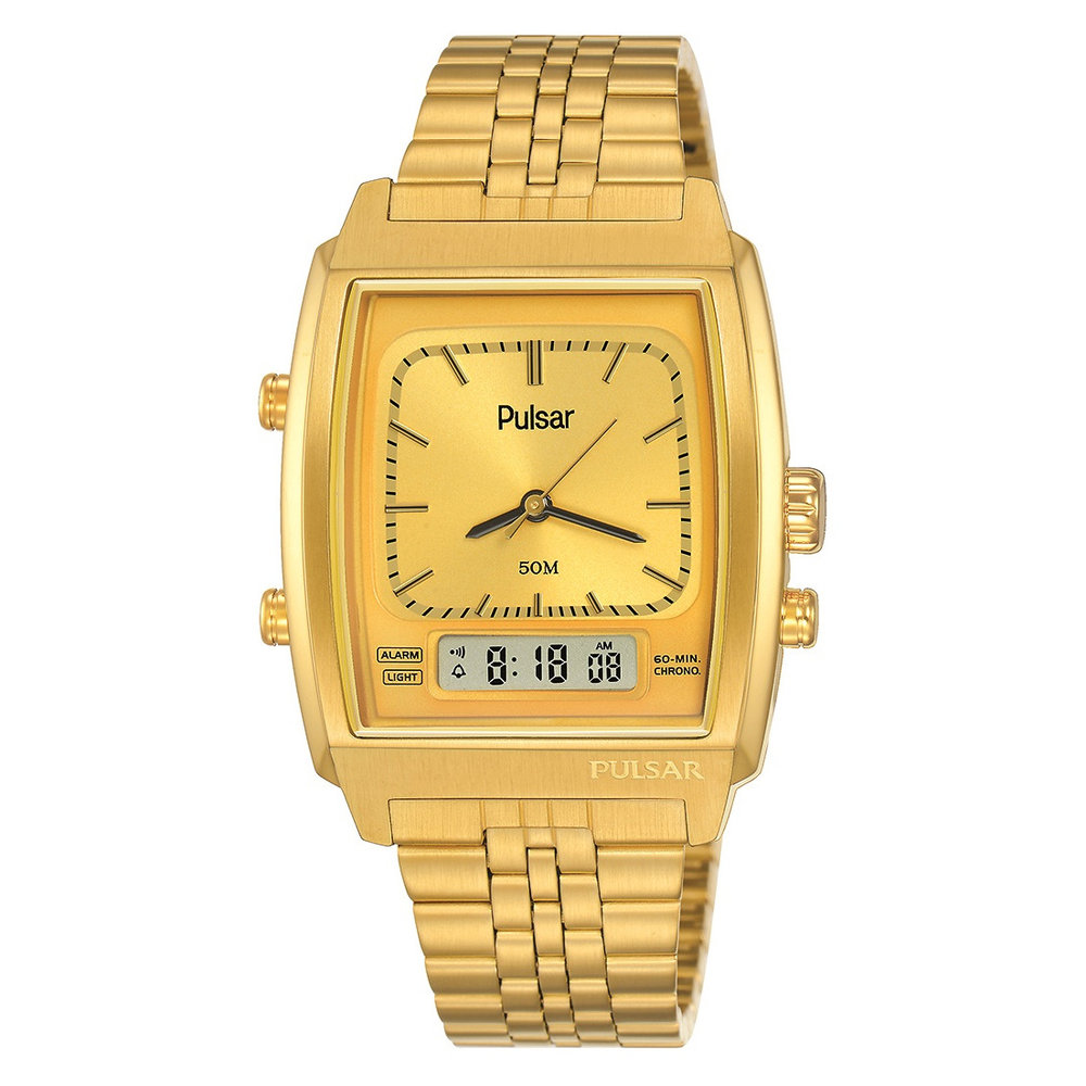 MEN'S SEIKO CLASSIC WATCH - GOLD PLATED