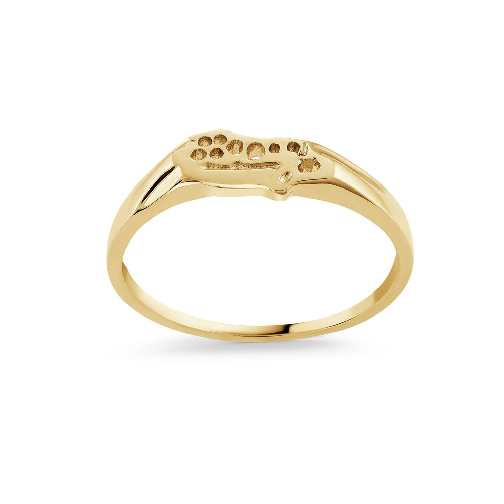 Boy's ring - 10K Yellow Gold