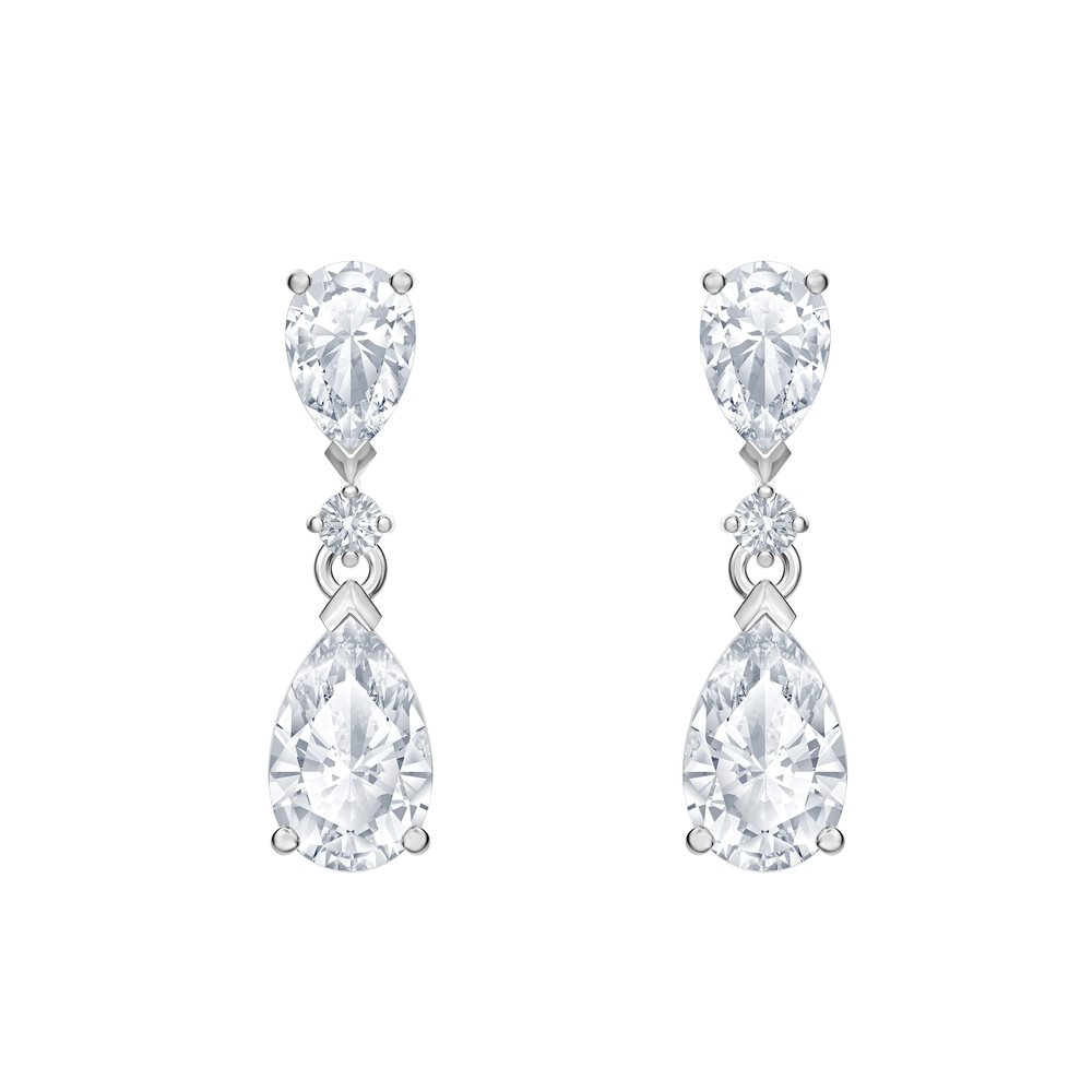 PALACE EARRINGS  WHITE CUBIC ZIRCONIA