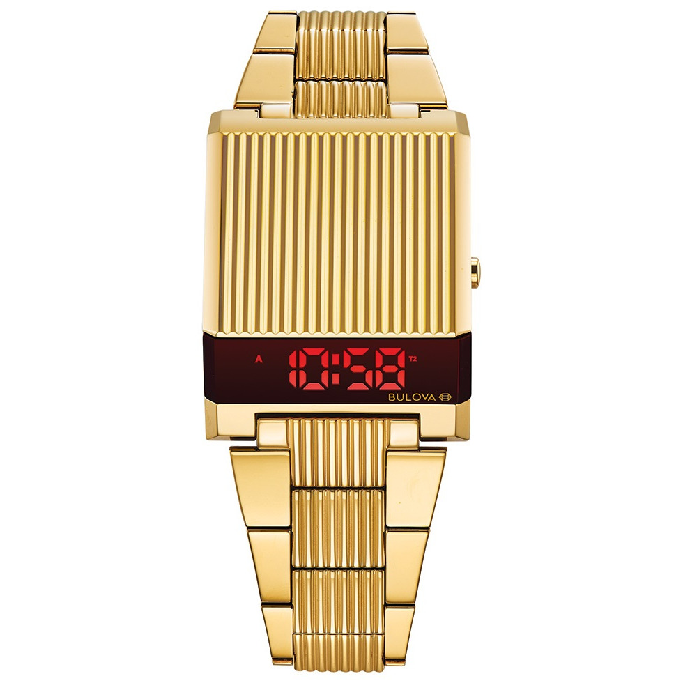 WATCH FOR MEN GOLD-TONE STAINLESS STEEL