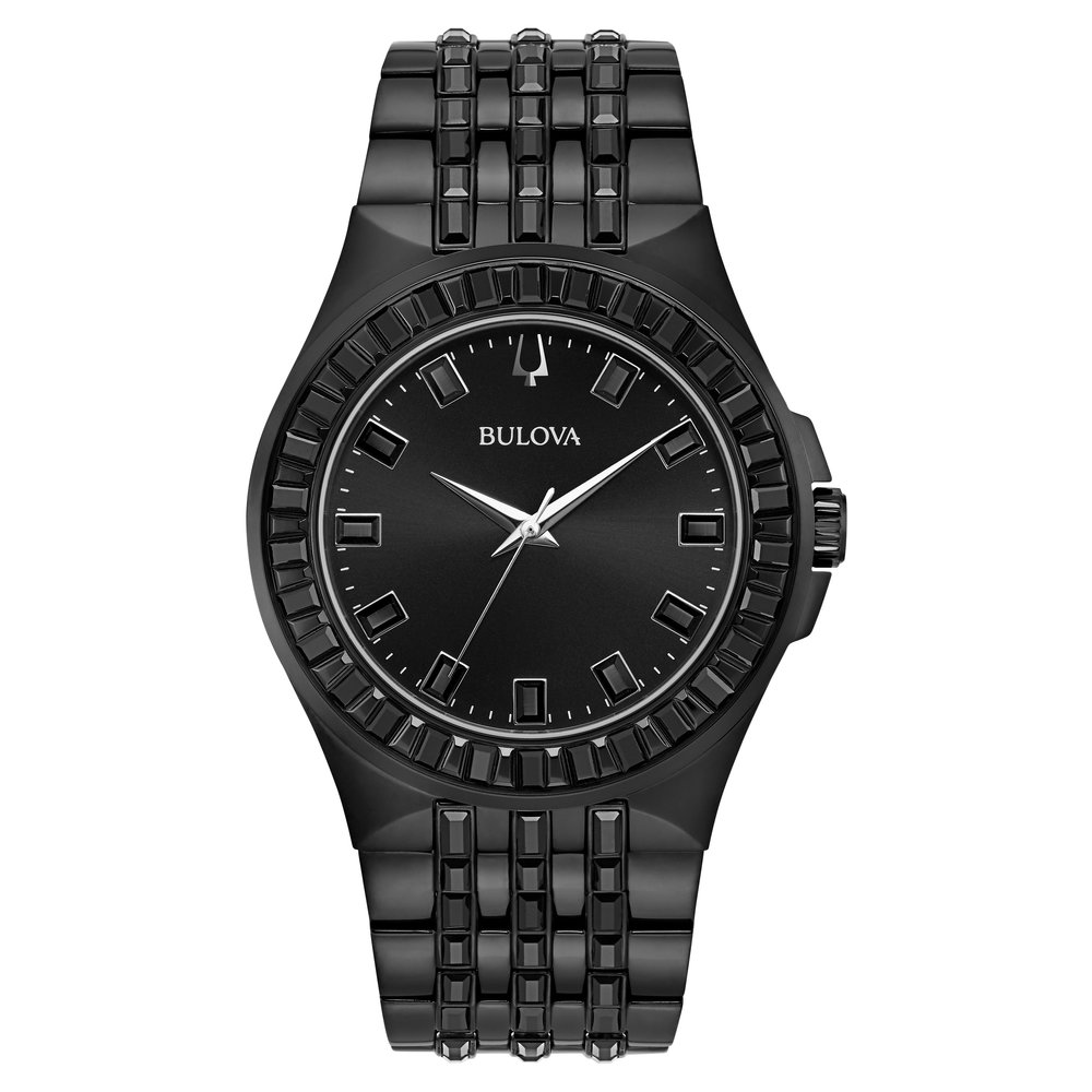 WATCH FOR MEN STAINLESS STEEL WITH BLACK DIAL