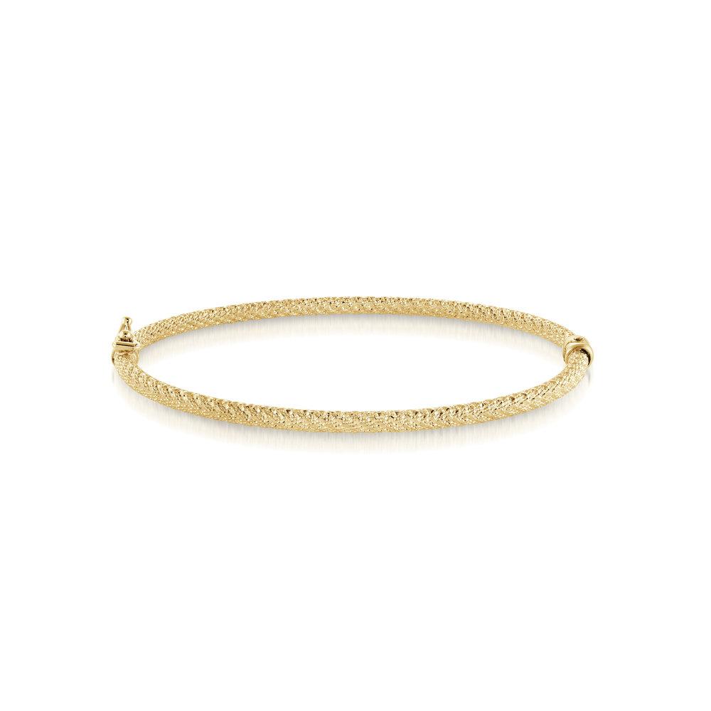 BRACELET FOR WOMEN, 10K YELLOW GOLD