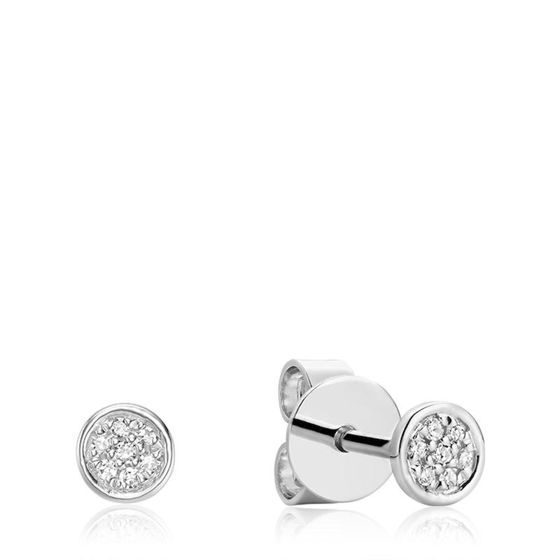 Stud Earrings For Women - Gold 10k & Diamonds