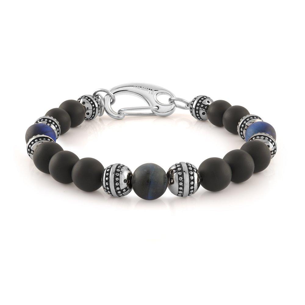 Beads bracelet - Genuine eye tiger 8.2