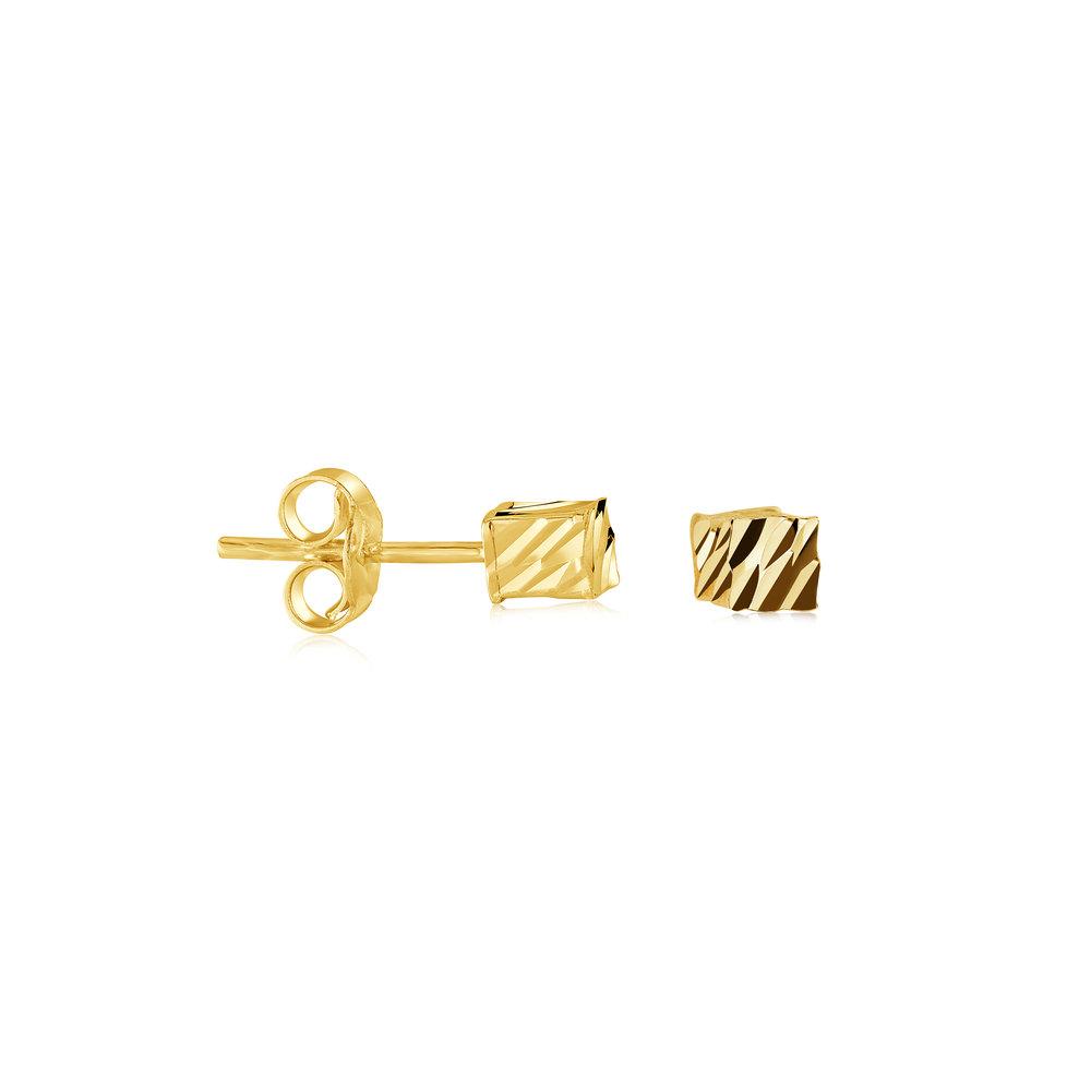 Boucles D'oreilles Fixes Pour Femme - Or 10k