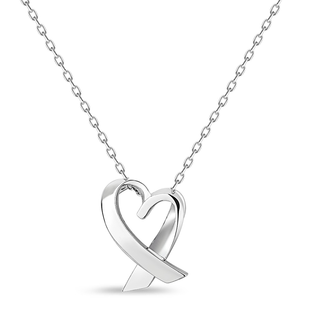 cancer symbol pendant in .925 sterling silver