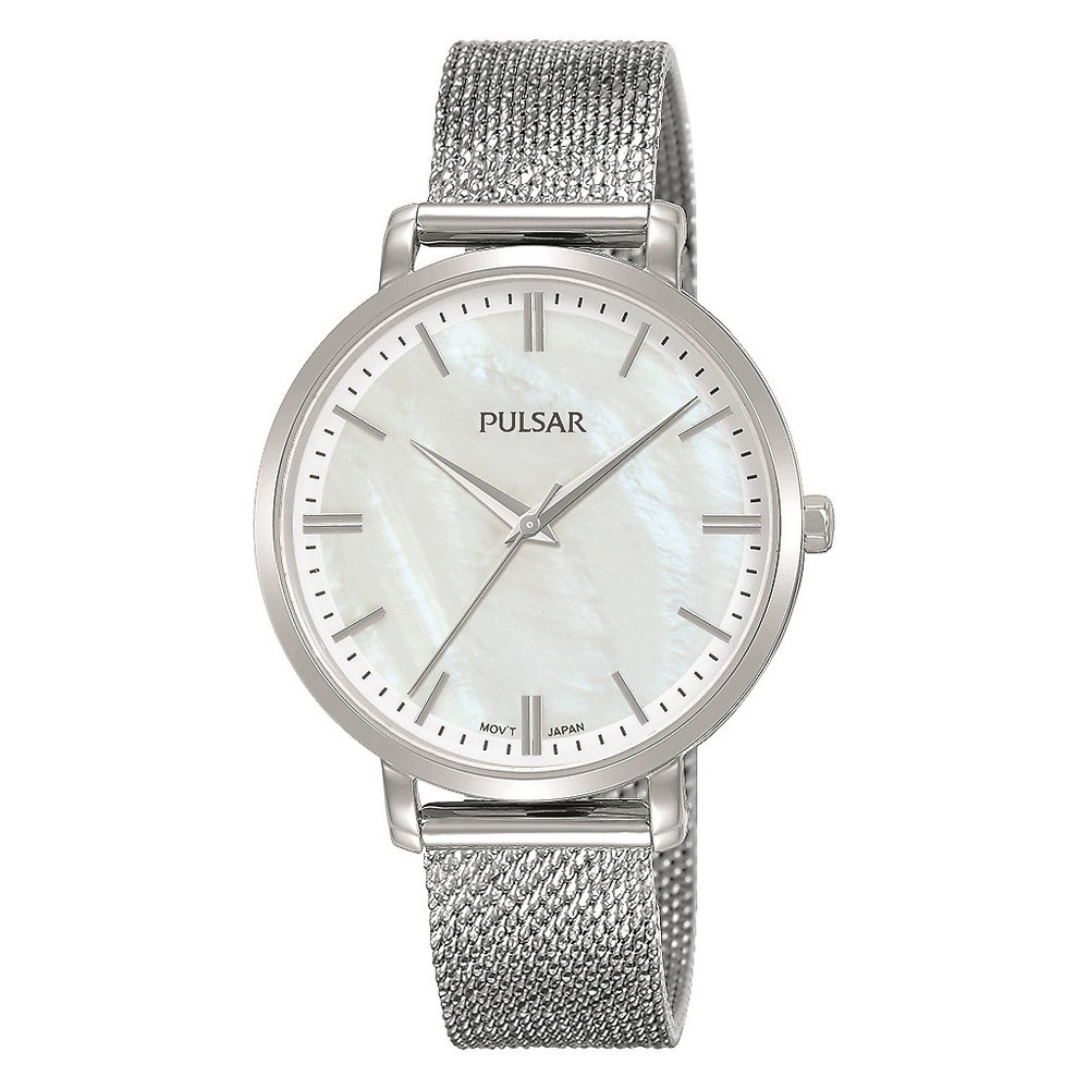 Women's Fashion Watch - Silver/Mother of Pearl