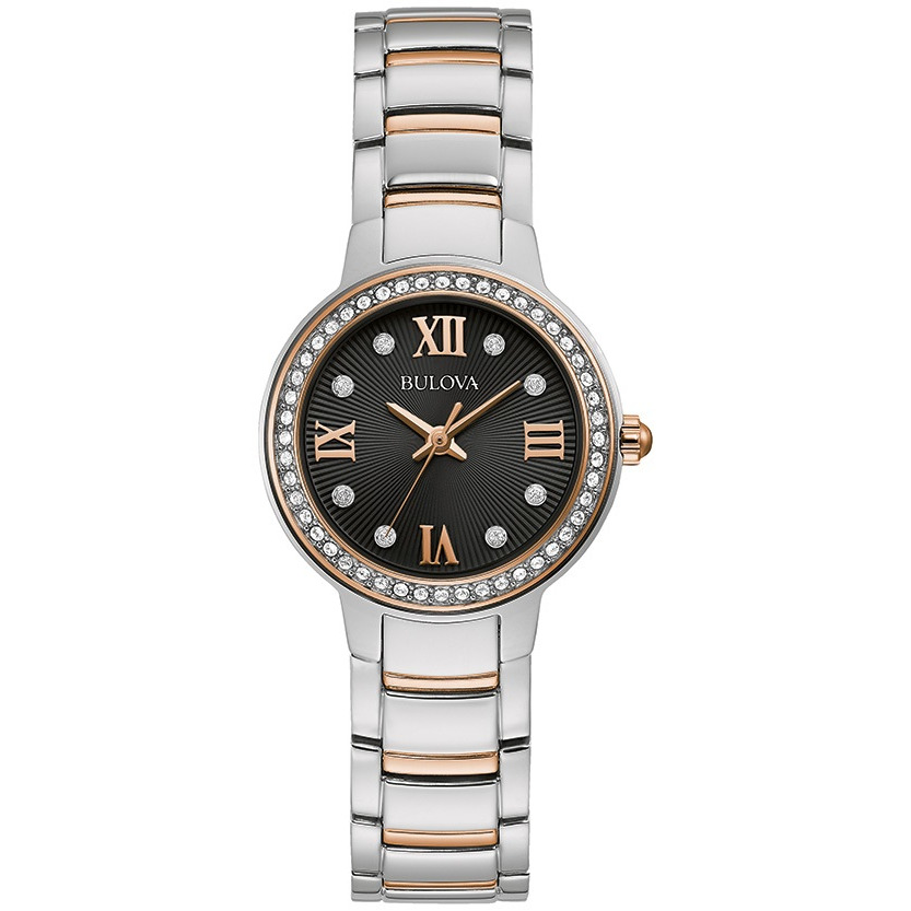 Women's Two Tone Stainless Steel Bracelet Watch