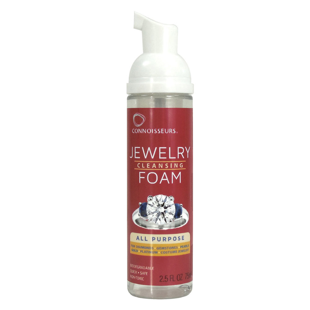 Foam cleaner for jewelry/  for all purpose: diamonds, gemstones, pearls, gold!