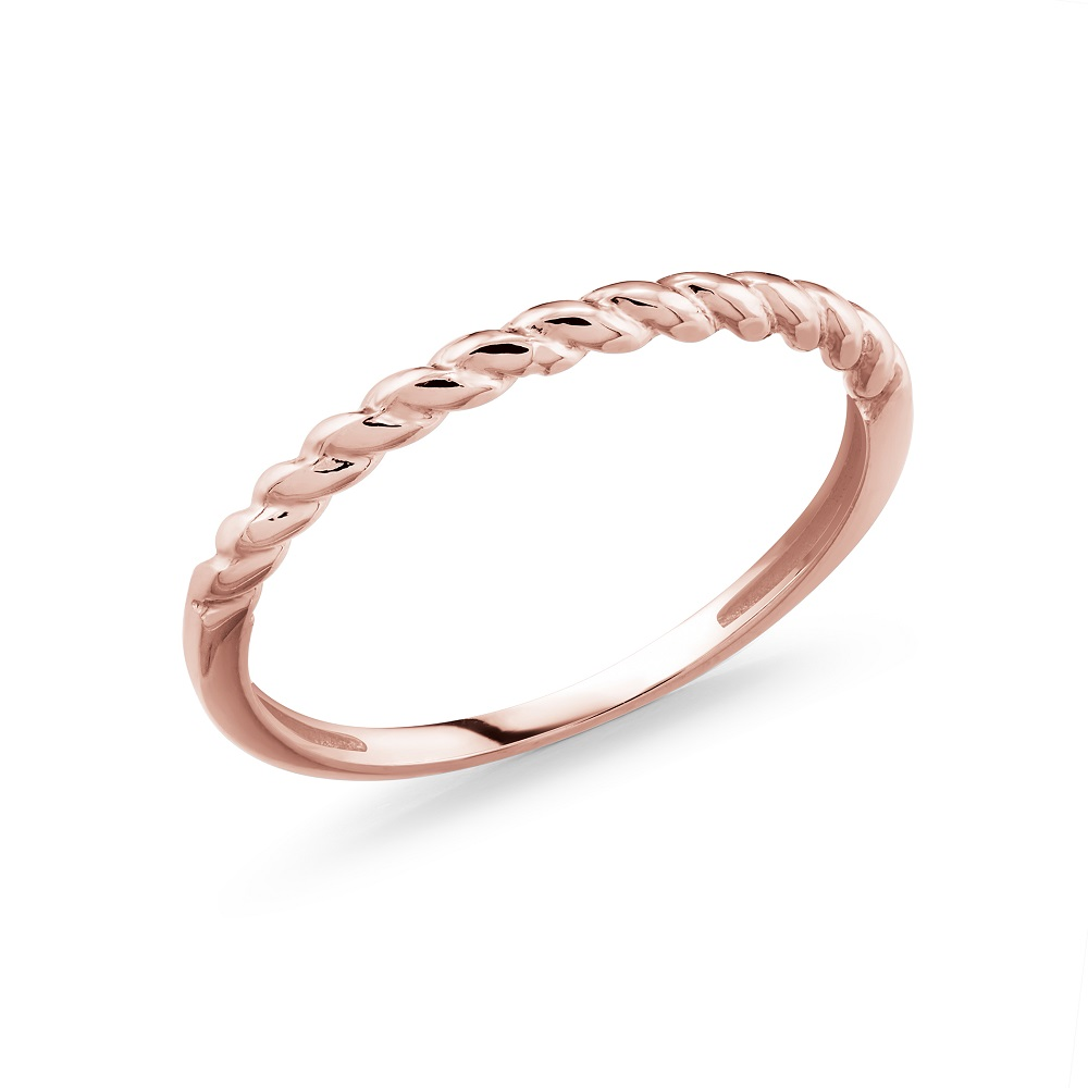 Band for woman - 10K rose gold
