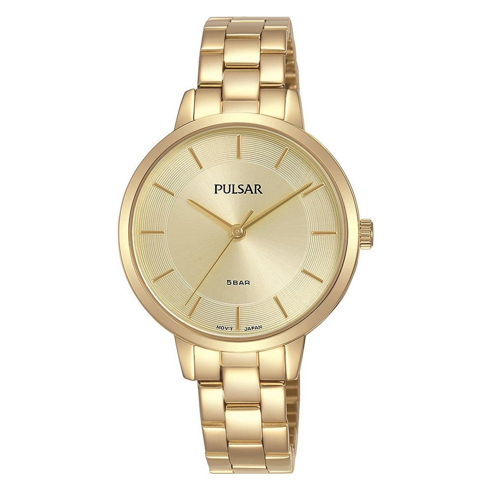 Montre Pulsar pour femme - Acier inoxydable jaune