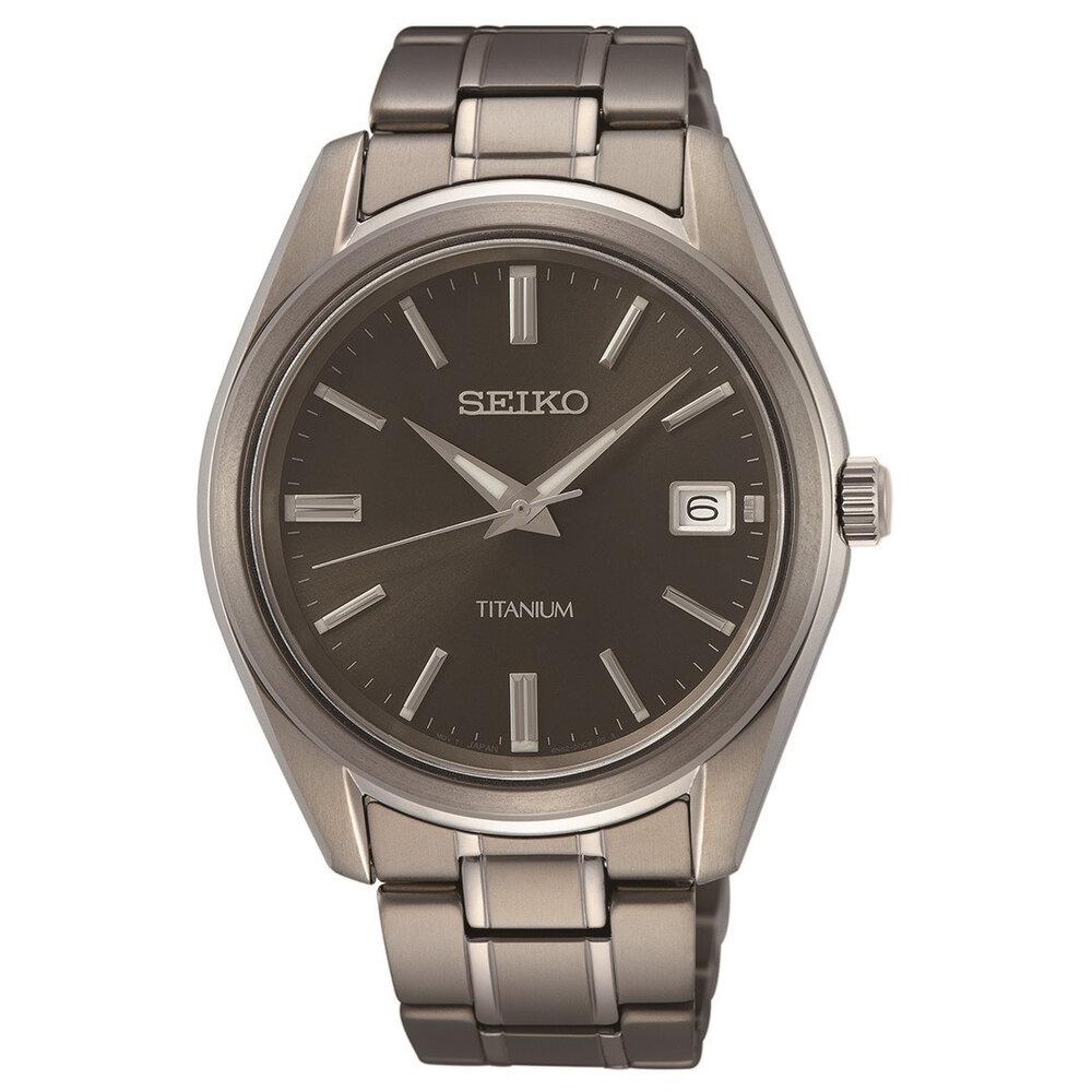 titanium men's watch