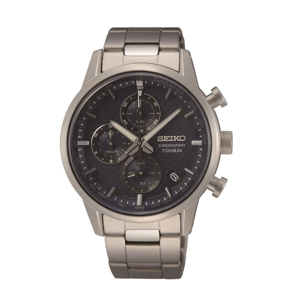Titanium chronograph Men's Seiko watch