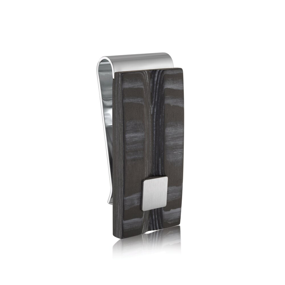 PINCE à billet au fibre du carbon et  acier inoxydable