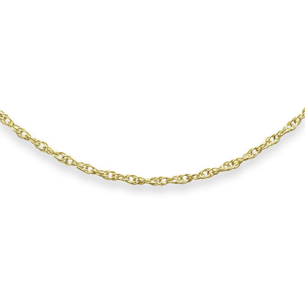 14'' Child's Mini-rope chain - 10K yellow gold