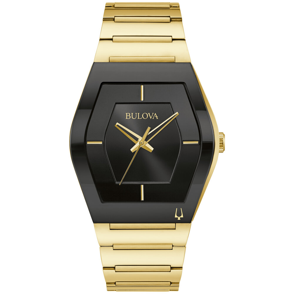 Gemini gold stainless steel wristwatch