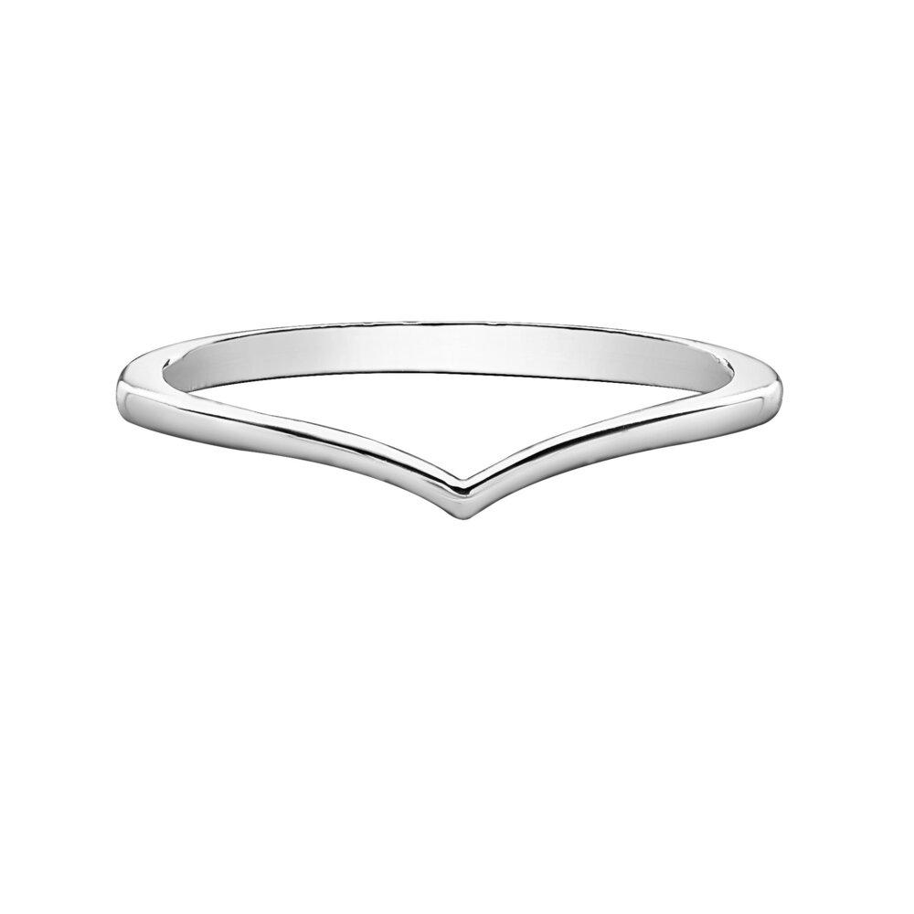 Alliance pour femme 1.3mm, or blanc 10k