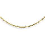 12'' Curb chain for babies - 10K yellow Gold