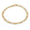 Bracelet coeurs 5.5'' pour fillettes - Or jaune 10K
